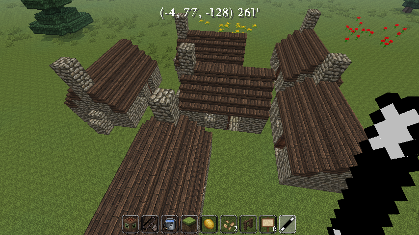 Minecraft Spawn Buildings Mod